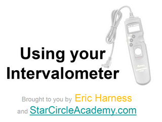 Using Your Intervalometer