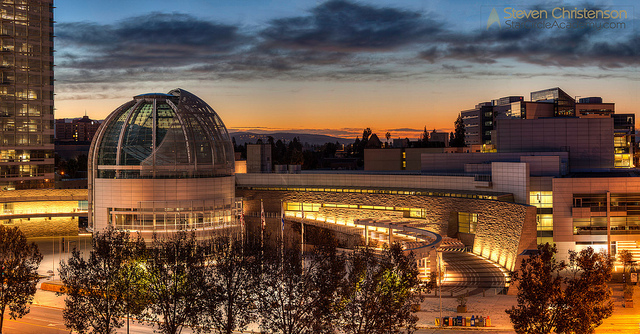 San Jose City Hall Panorama