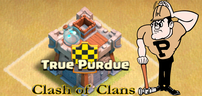 True Purdue - Clash of Clans