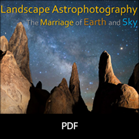 Landscape Astrophotography Notes